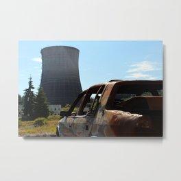 Post Apocalyptic Wasteland Metal Print