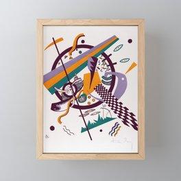 Vasily Kandinsky Small Worlds IV Framed Mini Art Print