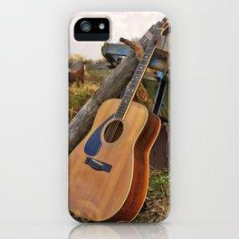Bathtub Blues iPhone Case