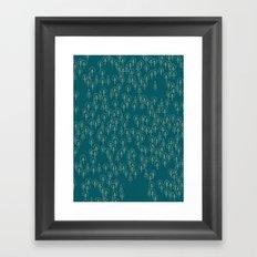 Geometric Woods Ver. 2 Framed Art Print