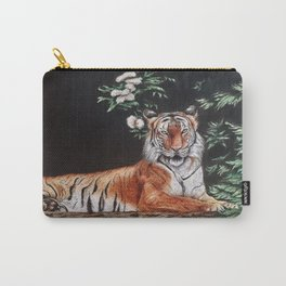 Sitting Magestic Tiger Nature Carry-All Pouch