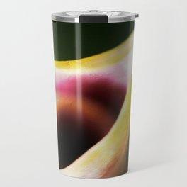 Calla Lily Abstract Travel Mug