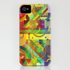 Future Patterns. Slim Case iPhone (4, 4s)