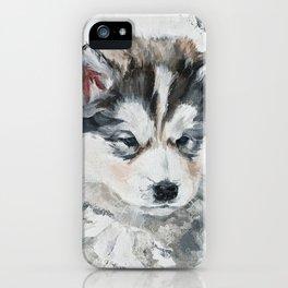 Little Puppy husky iPhone Case