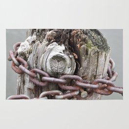 Chains and a Post Rug