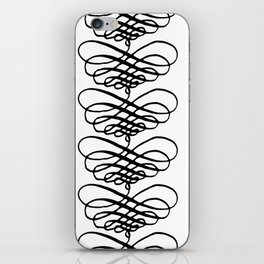 Curly Pattern 09 iPhone Skin