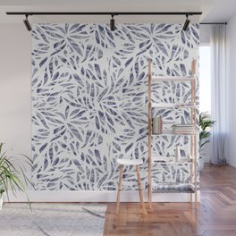 Shibori Plants Wall Mural