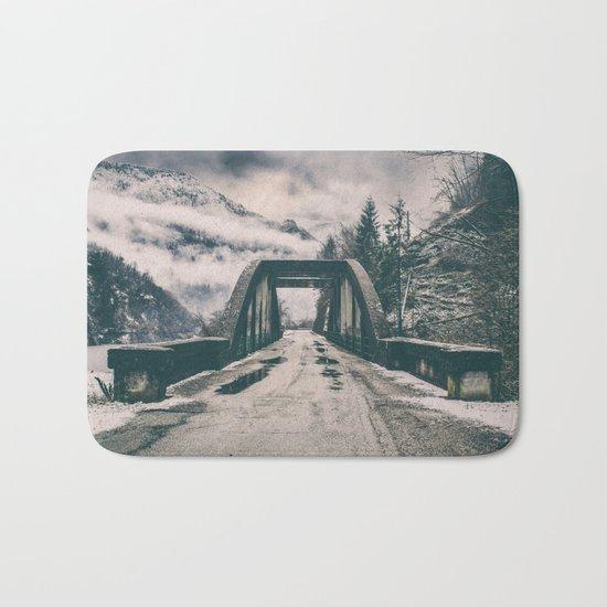Silence bridge Bath Mat