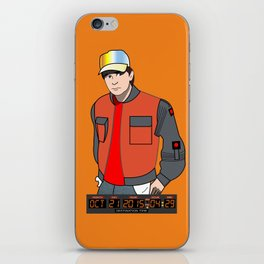 Marty McFly iPhone Skin