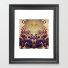 15-45-42 (KK Panty Glitch) Framed Art Print