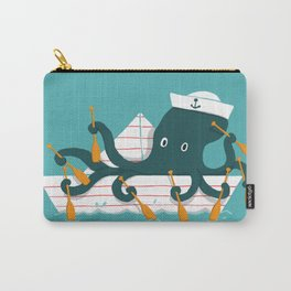 Sailor Octopus Carry-All Pouch