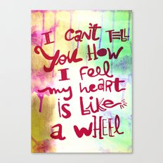 let me II Canvas Print