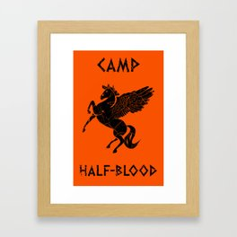 Camp Half-Blood Framed Art Print