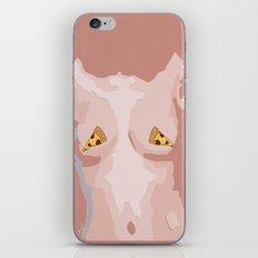 Pizza Nipples iPhone & iPod Skin