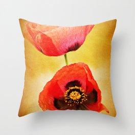 Poppy Duo Throw Pillow