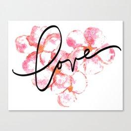 "Plumeria Love - A Romantic way to say, ""I Love You"" Canvas Print"