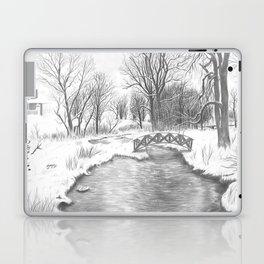 Snowy Landscape Laptop & iPad Skin