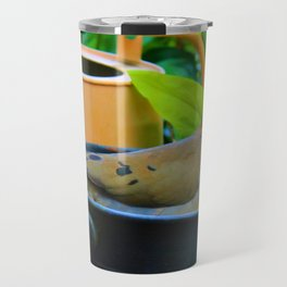 A Bird in a Bucket Travel Mug