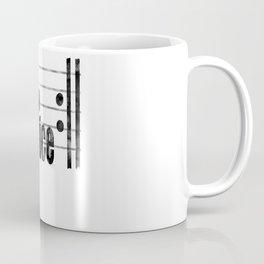Eat sleep exercises repeat funny music gift Coffee Mug