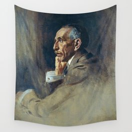 James Guthrie - William Morris Hughes, 1862 - 1952 Prime Minister of Australia (Study for portrait i Wall Tapestry
