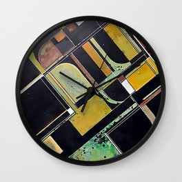 Entropy (In Living Color) Wall Clock