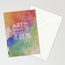 Art Enables us to... Stationery Cards
