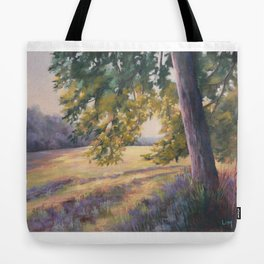 Soft morning in Rentilly Tote Bag