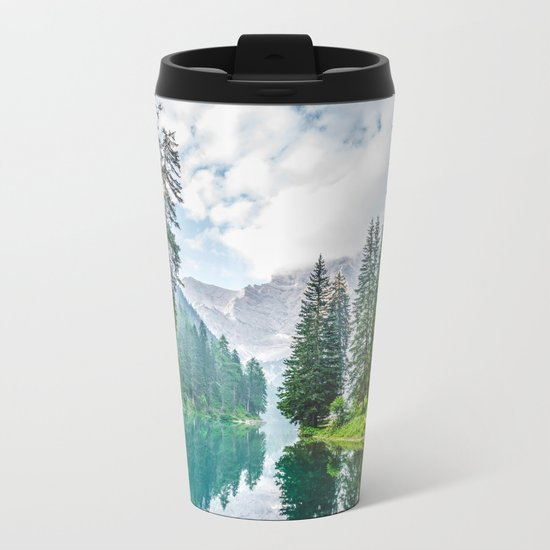 The Place To Be Metal Travel Mug