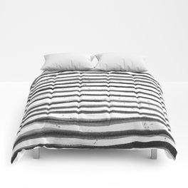 Zebra Swirl Stripe Comforters