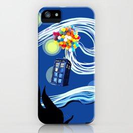 Tardis Balloons Starry Night iPhone Case