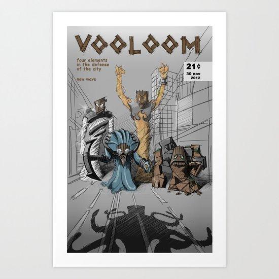 vooloom Art Print