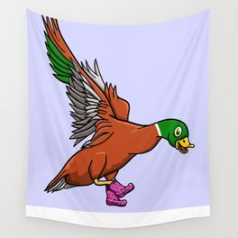 Duck Boots Wall Tapestry