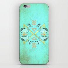 Aztec swan iPhone & iPod Skin