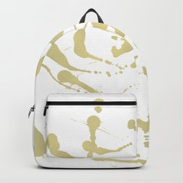 Gold drops Backpack