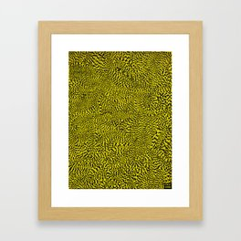 Tiger Tail Framed Art Print
