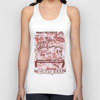 liverpool Tank Tops featuring Liverpool by leeann walker illustration