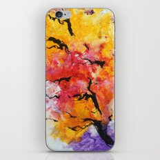 Abstraction on a tree iPhone & iPod Skin