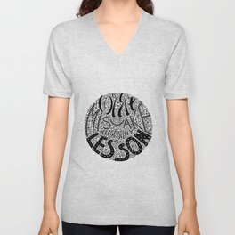 Forget the Mistake Remember the Lesson Unisex V-Neck