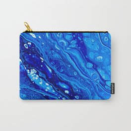 Blue Splash Carry-All Pouch