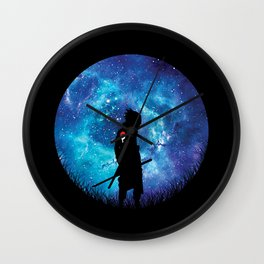 Sasuke Silhouette Uchiha Wall Clock