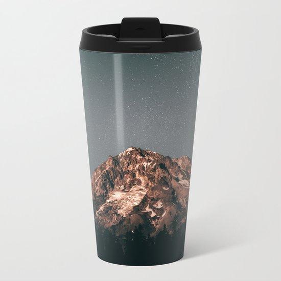 Mount Hood VIII Metal Travel Mug