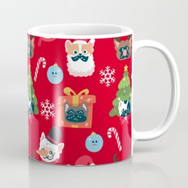 Xmas and French Bulldogs Coffee Mug