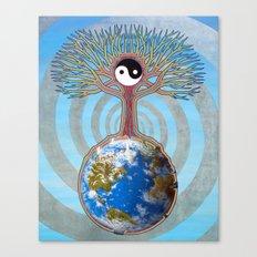 Balanced Earth Canvas Print