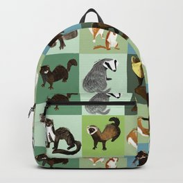 Best Nine  Mustelids from Spain Backpack