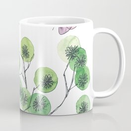 a touch of summer fragrance - white background Coffee Mug