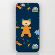 space teddy bear iPhone & iPod Skin