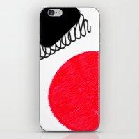 clown iPhone & iPod Skins featuring clown by Gréta Thórsdóttir