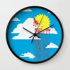 From a Lacerated Sky Wall Clock