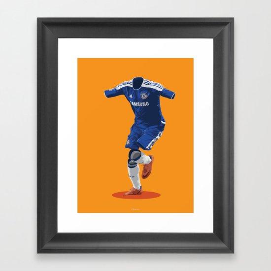 Chelsea 2011/12 - Champions League Winners Framed Art Print