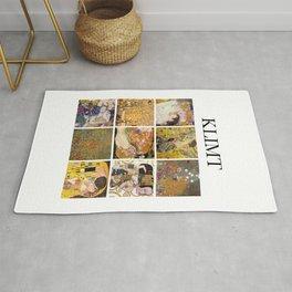 Klimt - Collage Rug